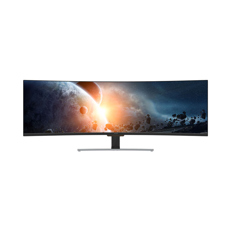"Viotek SUW49C 49""Super Ultrawide Curved HDR Gaming Monitor —32:9 3840x1080p  144Hz w/ Remote, FreeSync - & More"