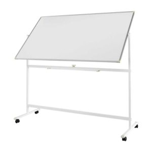 viotek vb7036 in mobile whiteboard streakfree u0026 doublesided for 2x the writing 360 rotation