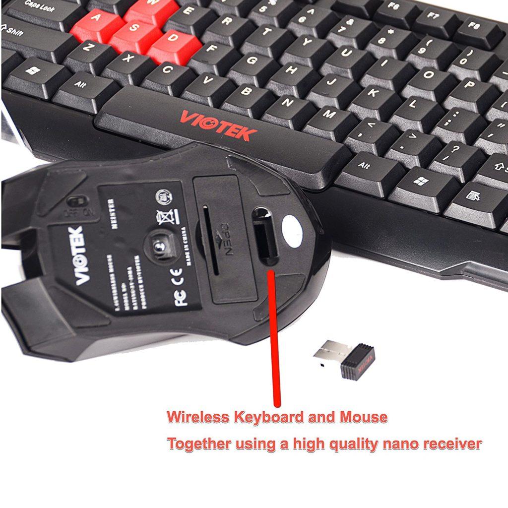 41fc01aac11 Viotek HAWKPECK 2.4GHZ Wireless Mouse & Keyboard - Viotek