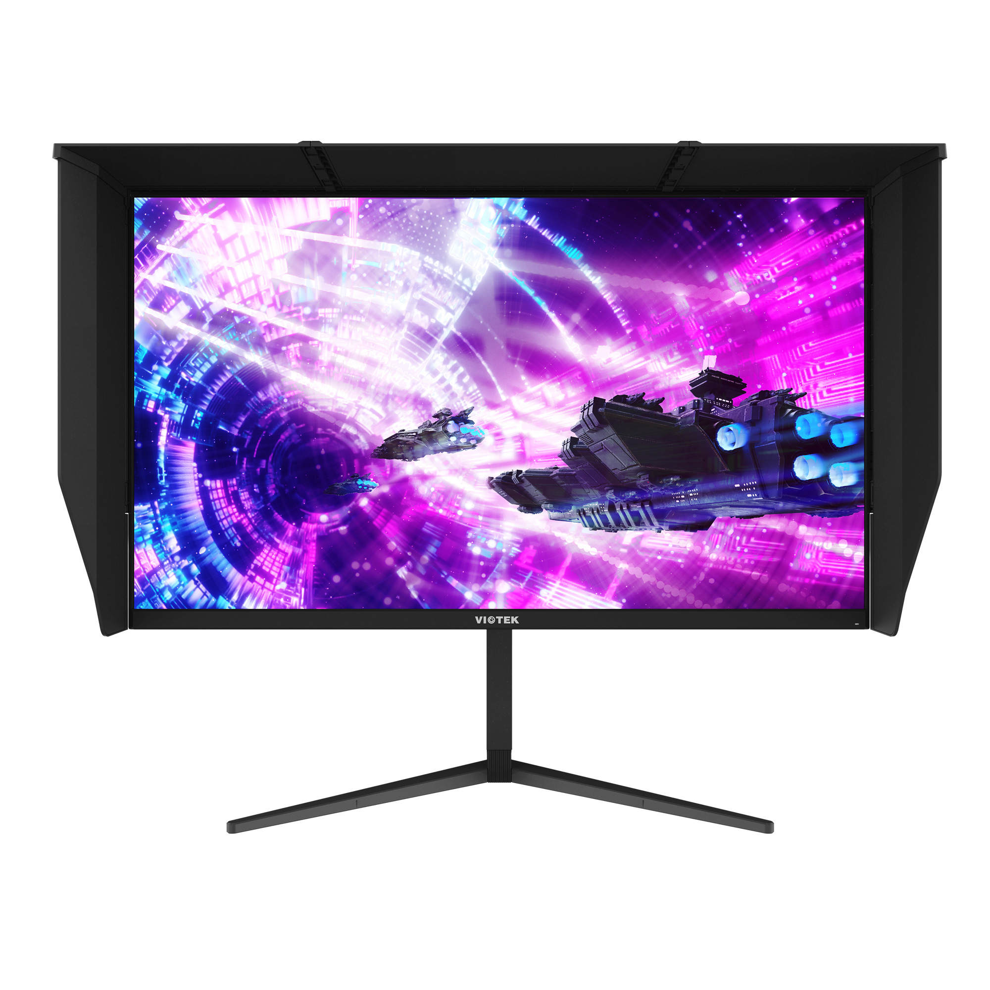 "GFI27XQA 27"" IPS 4K Gaming Monitor — 144Hz, 1MS (OD), UHD | HDR-Ready w/ FreeSync & G-SYNC Compatibility (VESA)"