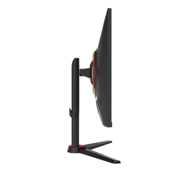 "GFV27DAB 27"" Gaming Monitor — 1440P 1MS VA Panel with Full-Motion Stand"