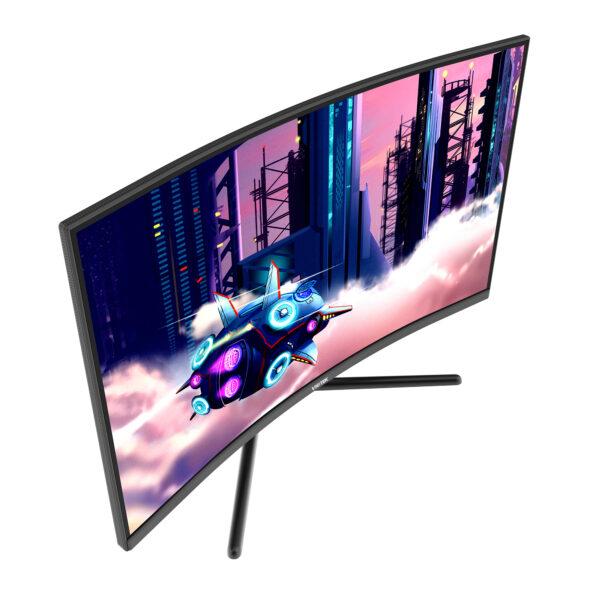 VIOTEK GNV32DB 32-Inch Curved Gaming Monitor.