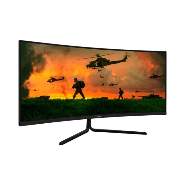 VIOTEK GNV34DB 34-Inch Ultrawide Gaming Monitor, Curved 1500R UWQHD VA Panel