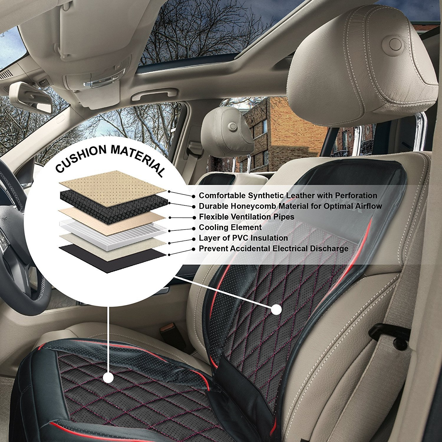 Viotek Cooling Car Seat Cushions V2