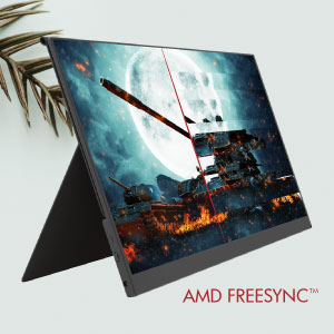 Portable Monitor with AMD FreeSync
