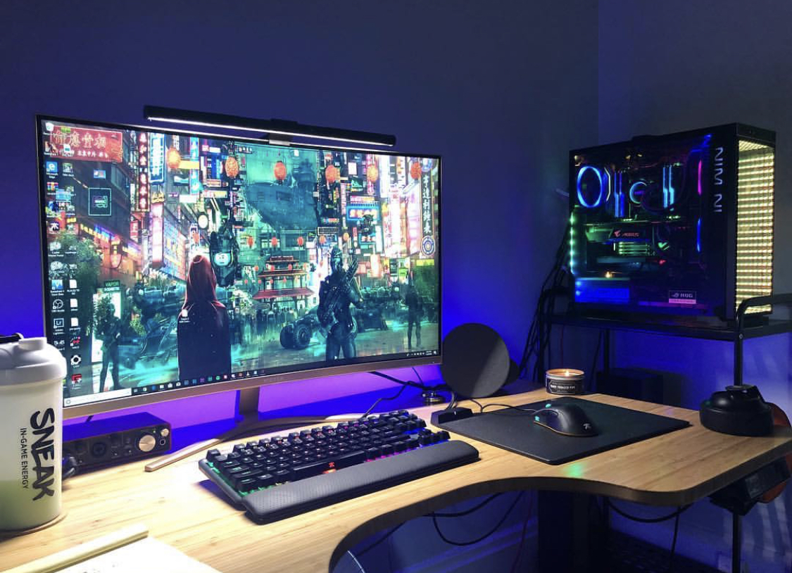 Ultimate Gamer Setup example #2